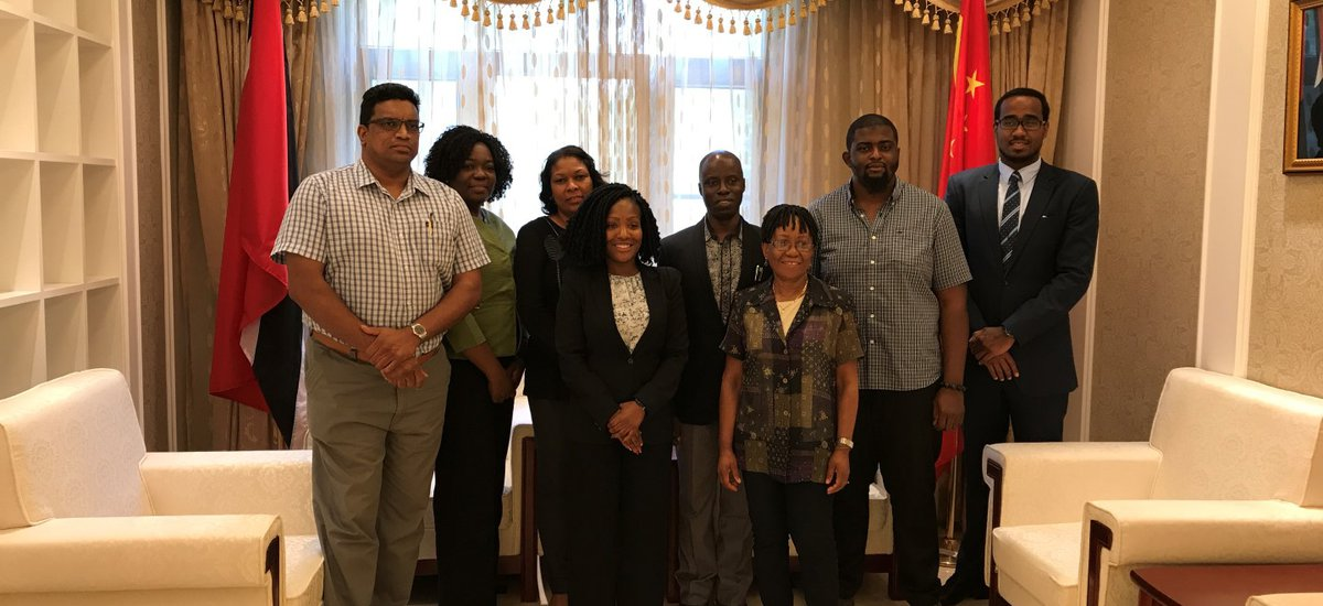 Visit by delegation from the Faculty of Food and Agriculture, University of the West Indies, St. Augustine Campus, May 25, 2017