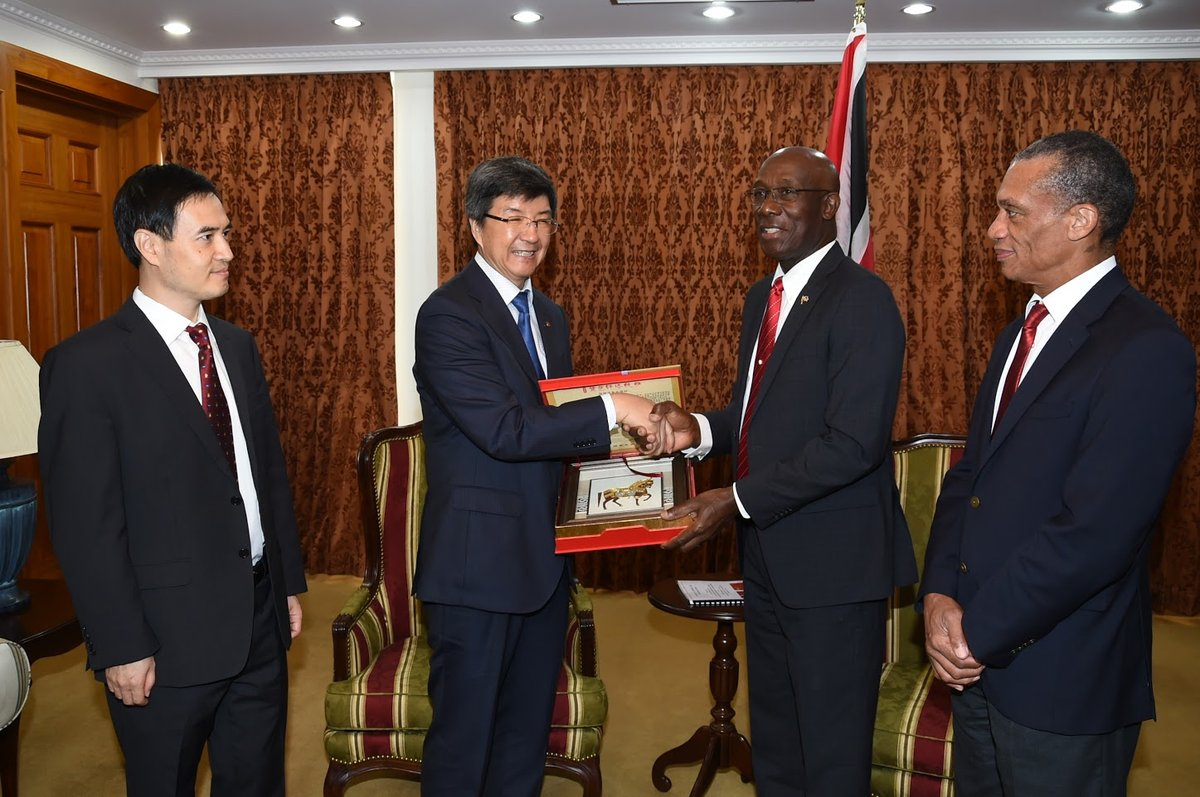 Chinese Ambassador meets the Prime Minister