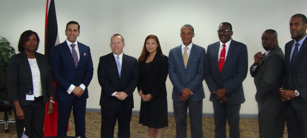 Sen. the Hon. Dennis Moses, Minister of Foreign and CARICOM Affairs Trinidad and Tobago and the United States of America regarding the Implementation of the Personal Identification Secure Comparison and Evaluation System (PISCES).