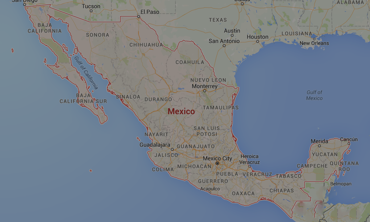 Ministry Of Foreign And Caricom Affairs Embassy Of The United - Us-consulates-in-mexico-map